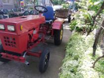 Tractor china 15cp+set(freza, plug 2 brazde si semiremorca)