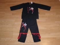Costum carnaval serbare ninja caratist 7-8 ani