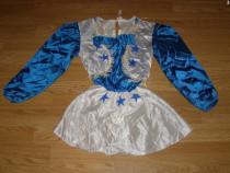 Costum carnaval serbare cowgirl serifa 4-5-6 ani
