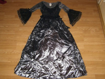 Costum carnaval serbare rochie medievala regina adulti M