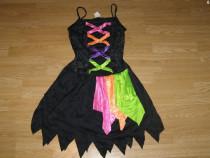 Costum carnaval serbare vrajitoare pentru adulti marime S