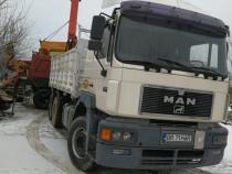 Camion Man 6x4 cu macara basculabil
