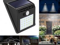Lampa cu led solara si senzor de miscare 30 x led c250