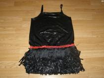 Costum carnaval serbare rochie dans pentru adulti marime S