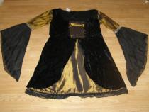 Costum carnaval serbare cadana rochie medievala adulti L-XL