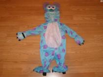 Costum carnaval serbare monster inc 6-9 luni