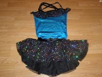 Costum carnaval serbare rochie dans balet gala 10-11 ani