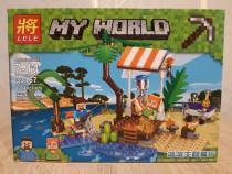 Set de 179 piese lego Minecraft - My World ( LELE 33167-A )