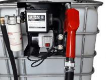 Bazin cu pompa motorina 1000 litri contor de precizie