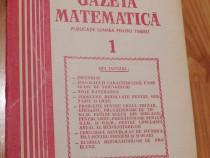 Gazeta matematica - Nr. 1 din 1989