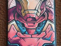 Iron man /superman /cpt. america - huse galaxy note 9
