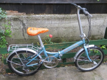 """ On The Road "" bicicleta pliabila fabricata in Germania"