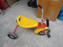 Tricicleta plastic metal 3 roti