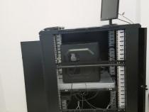 Rack 24 U+Server DELL R710+Switch Zyxel Management+UPS