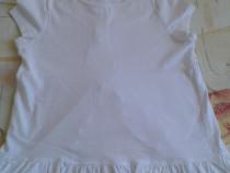 Tricou alb cu fodre 128
