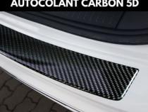Sticker Protectie Portbagaj Carbon Negru 5D Lacuit 83X5.5 CM