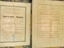 A583-Certificat de Absolvire Romania regalista.