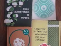 4 carti despre cultura, producerea si folosirea ciupercilor