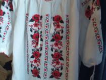 Camasa bluza ie traditionala lucrata manual