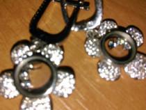 Cercei argint Chopard
