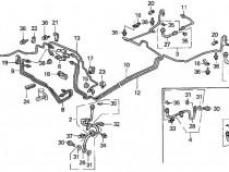 Conducte frana si benzina Honda Civic-Crx Del Sol D14 D15 D1