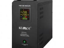 UPS centrala termica,500W,12V acumulator 55Ah