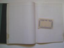 Registru contabil vintage 100 file