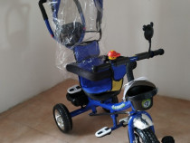 Tricicleta MACACA Simple Ride BT01 (Albastră)