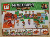 Nou/sigilat - set de 79 piese tip lego minecraft lb 514-1