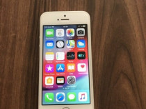 Iphone 5s husa silicon si folie sticla