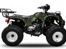 ATV adulti Bemi Big Hummer 200 CVT cu carlig remorca CAMO