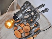 Lampa schior steampunkdesigncj, lampa steampunk