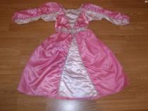 Costum carnaval serbare printesa aurora barbie 4-5-6 ani
