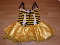 Costum carnaval serbare albina albinuta pentru adulti S-M