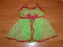 Costum carnaval serbare rochie dans balet 4-5 ani