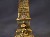 Statuieta din bronz, veche, vintage, de colectie, decor