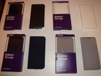 Husa Samsung originala Galaxy S6 Edge activa flip wallet NOU