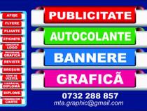 Bannere autocolante publicitate la comanda
