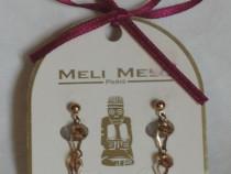 Cercei Meli Melo, lungime 3,5 cm