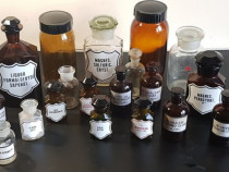 Sticle antice ptr farmacie