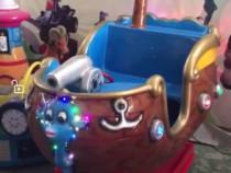 Kiddie ride barcuta oscilanta
