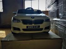 Masinuta electrica bmw seria 6 gt echipata premium #alb