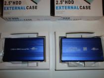 "Hard disk HDD Rack external case 2.5"" IDE si S-ata la USB"