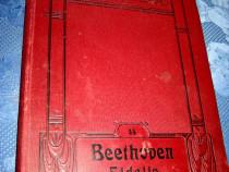B64-Album vechi Beethoven Fidelio anii 1900 pian editie Lux.