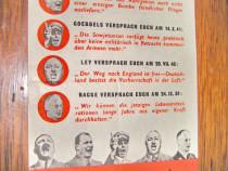 B85-I-3Reich-Manifest propaganda nazist pt. radioul german.