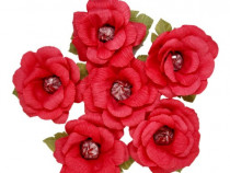 Trandafiri cu bomboana handmade set 5 buc.