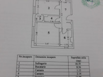 Apartament 2 camere zona Anda Ion ursu