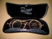 B134-I-Ochelari Karl Flesch Florhsheim/ Main.Uhren-Optik
