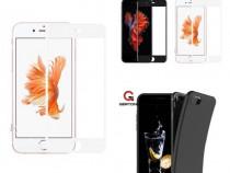 Iphone 6 6S+ 7 7+ 8 8 Plus Husa Silicon si Folie Sticla Curb