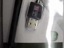 Adaptor WI-FI USB Wi-Fi antenna Produs NOU (sigilat)